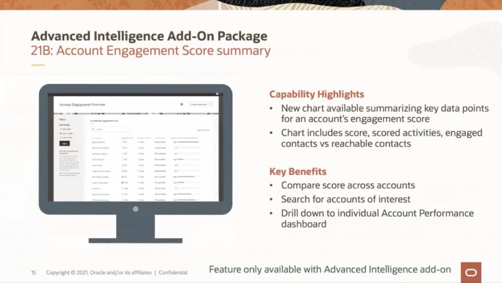 Post - Eloqua 21B Advanced Intellligence