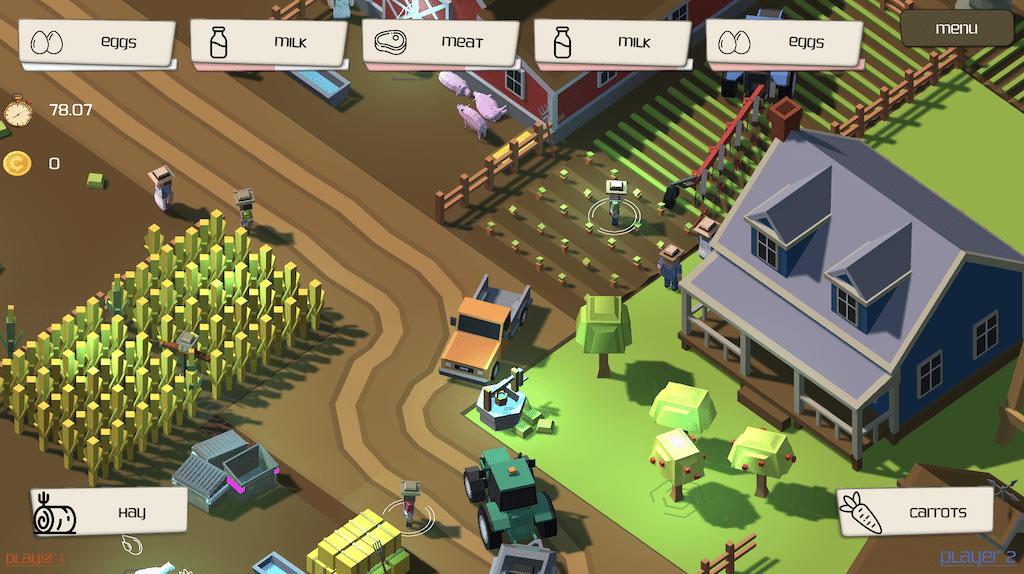 Day on Farm Screenshot
